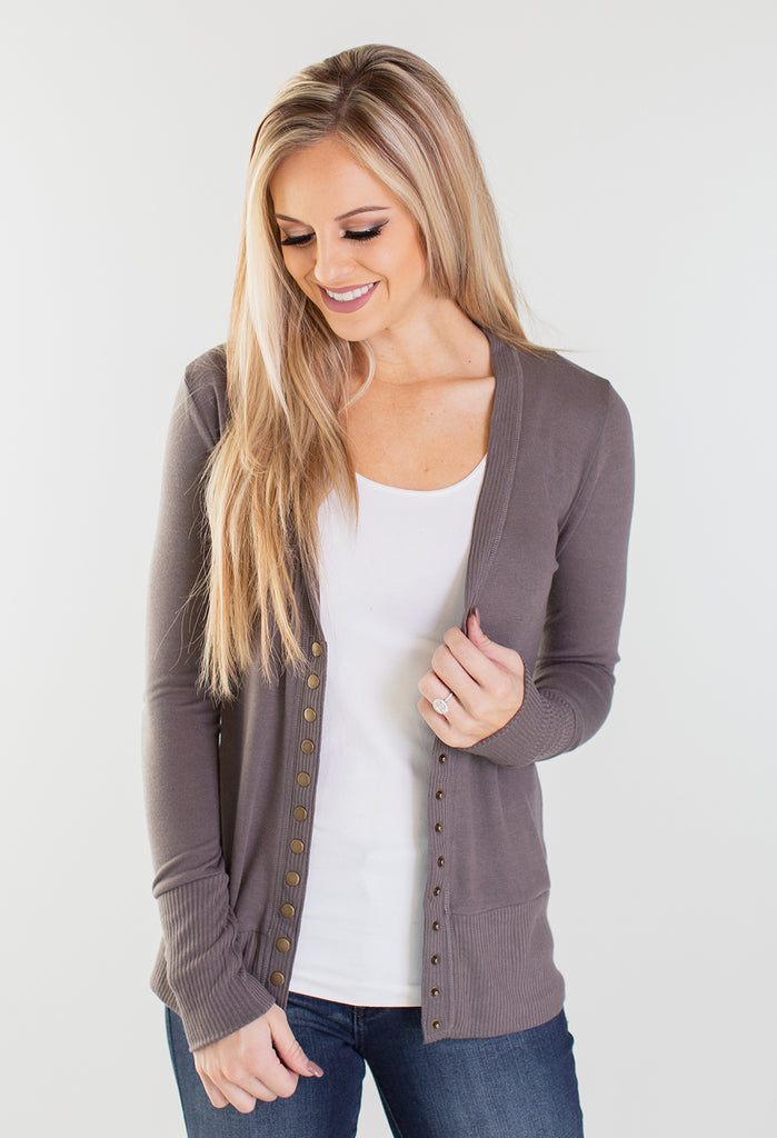 Seasons Change Snap Button Cardigan
