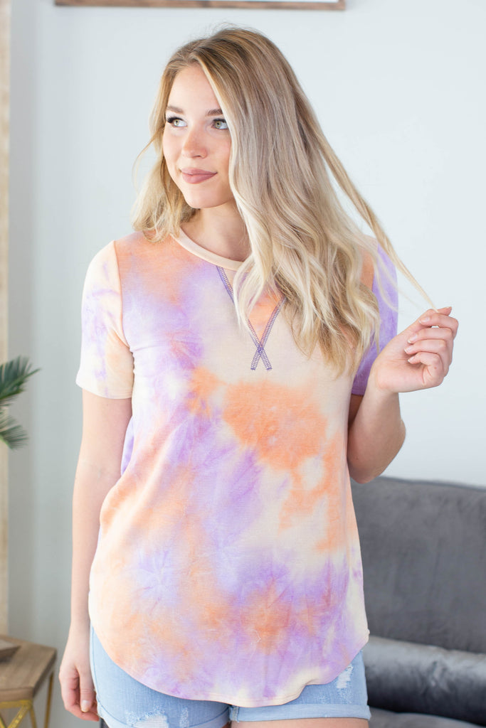 New Color Tie Dye Top