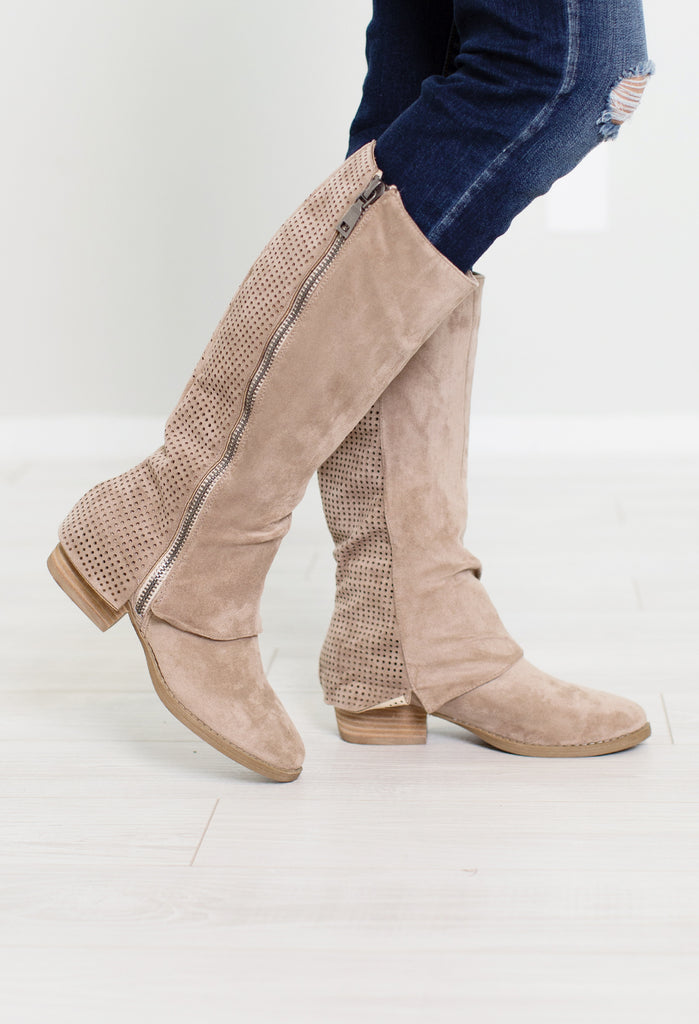 Unstructured Riding Boot
