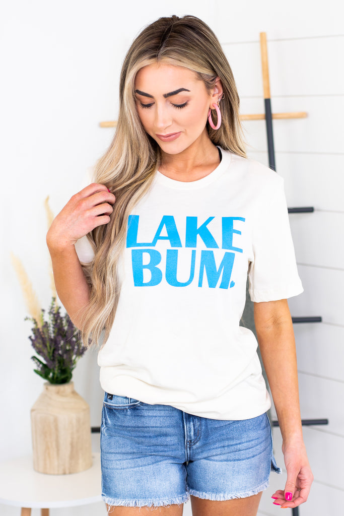 Lake Bum Graphic Tee - 2 Colors!!