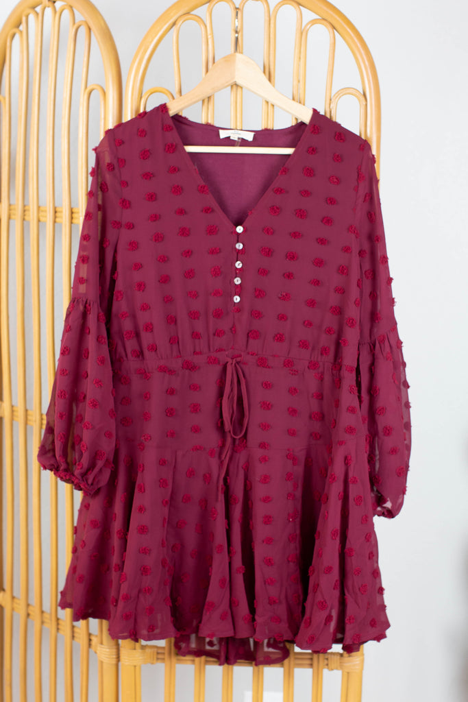 Jennie Dotted Swiss Dress