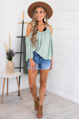 Annabell Layered Hem Top