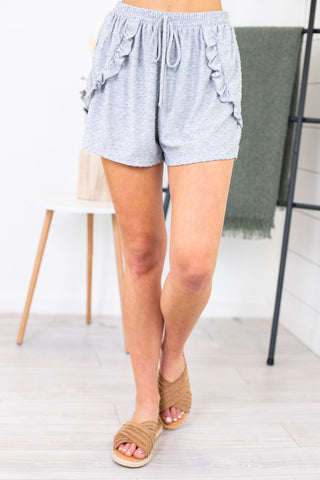 Wendy Distressed Shorts Vervet By Flying Monkey