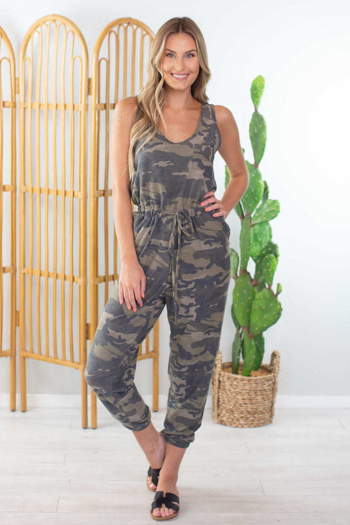Basic Training Camo Romper