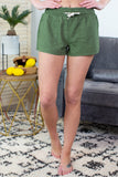 Linen Drawstring Shorts - 5 Colors