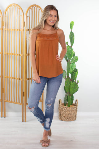 Traditions Ruffle Top
