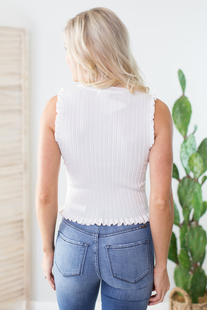 Daisy Sleeveless Top