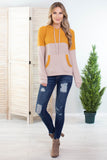 Ray Of Light Colorblock Hoodie