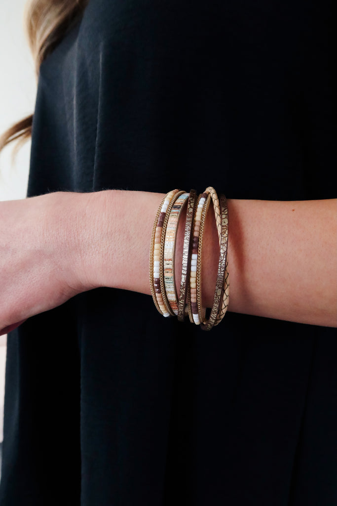 Jesse Multi Layered Bracelet - 2 Colors