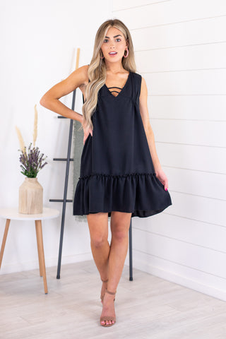 Marsha Pom Pom Dress
