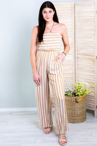 Nina Sleeveless Jumpsuit - New Color!!