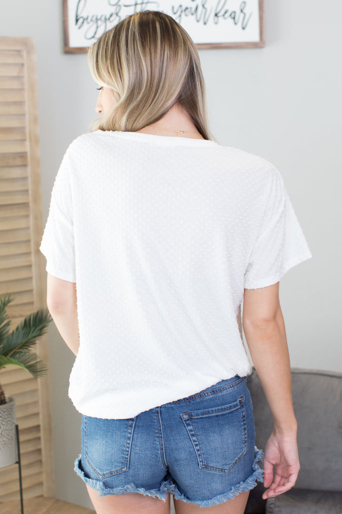 Dotty Basic Tee - 4 Colors