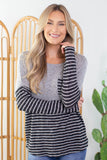 Dark Horse Striped Top