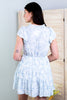 Ingalls Flutter Sleeve Tiered Dress - 2 Colors