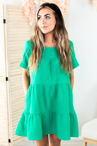 Maria Drop Shoulder Tunic Top-2 Colors!