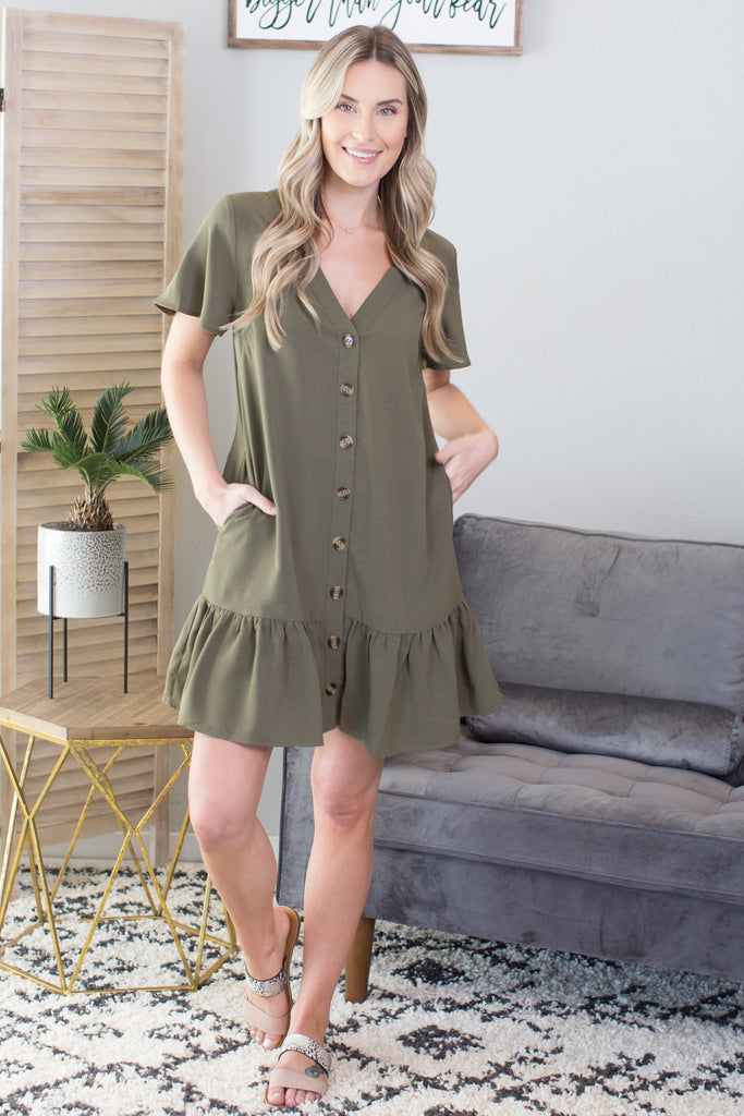 Ranger Ruffle Dress