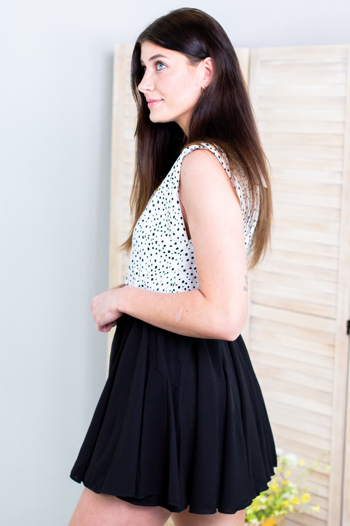 Julia Polka Dot Dress