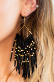 Charlotte Tassel Beaded Earrings