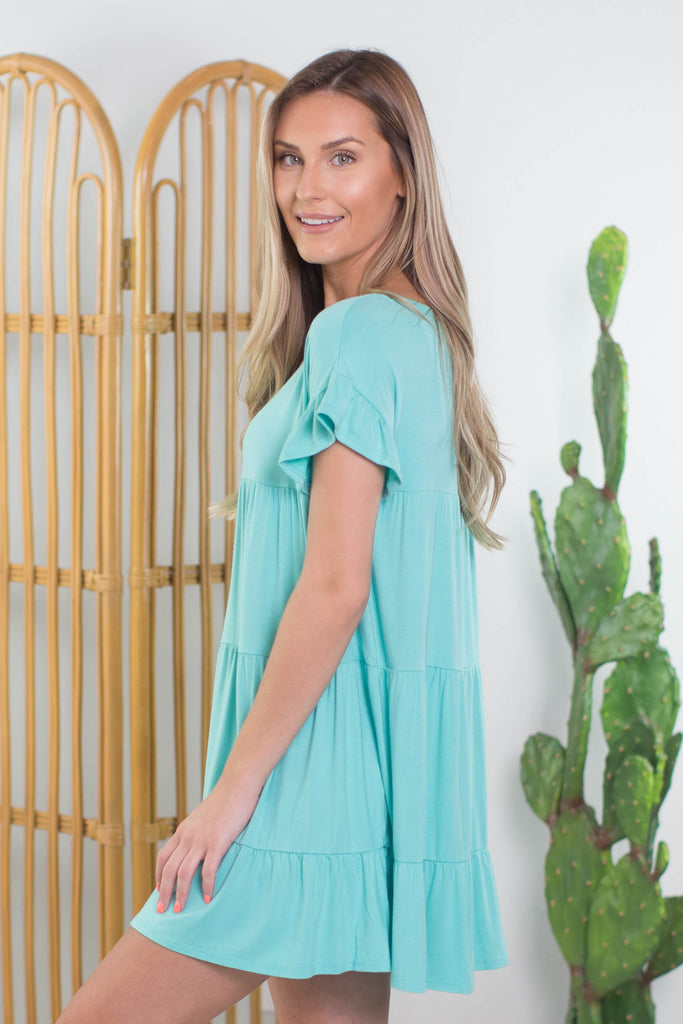 Coachella Ruffle Dress- 3 colors!