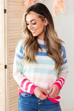Spring Parade Striped Sweater - 2 Colors