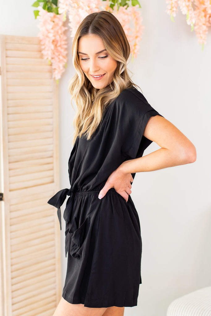 Blair Button Down Romper
