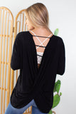 Night Owl Open Back Top