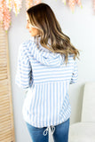 Lighthouse Striped Hoodie