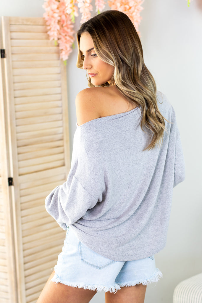 Octavia Twist Back Top- 2 colors
