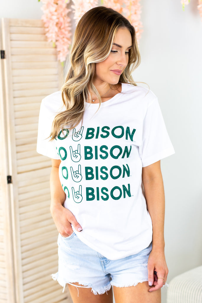 Go Bison Graphic Tee
