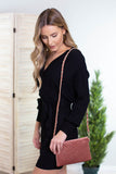 Stella Velvet Crossbody Purse
