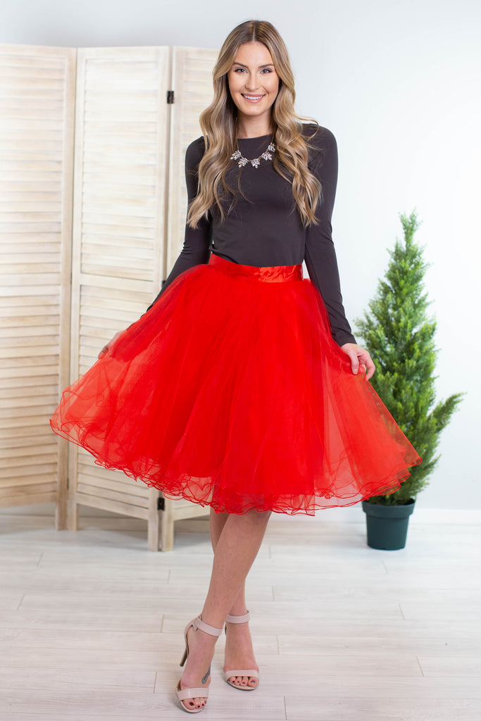 Belle Of The Ball Tulle Skirt