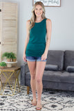 Cindy Sleeveless Top - 4 Colors