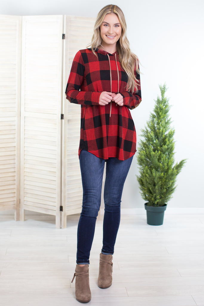 Cold Weather Elbow Patch Top