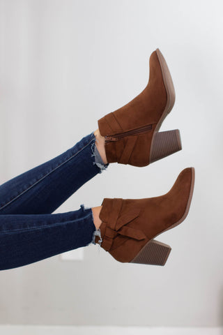 Meryl Zipper Accent Boot