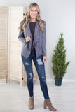 Beverly Hills Wide Collar Suede Jacket