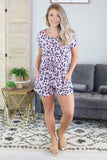 Tina Animal Print Romper