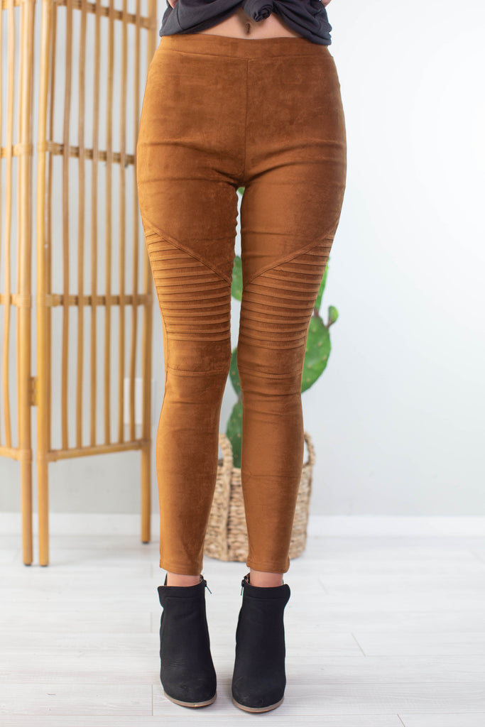 Autumn Moto Leggings-2 Colors!