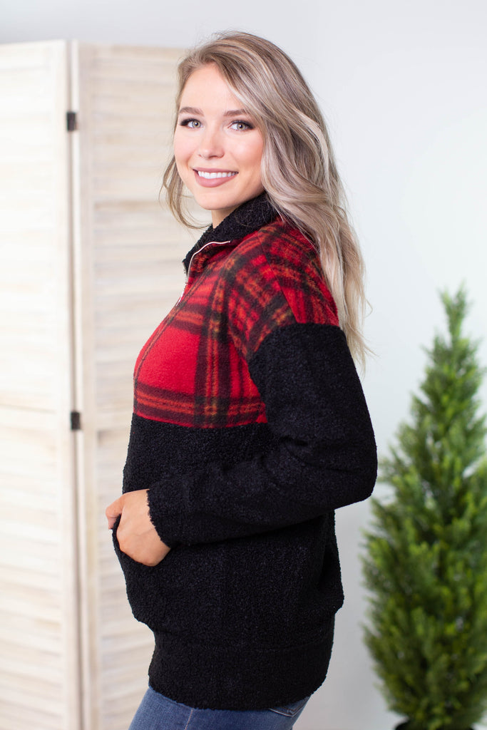 Farm Girl Checkered Jacket