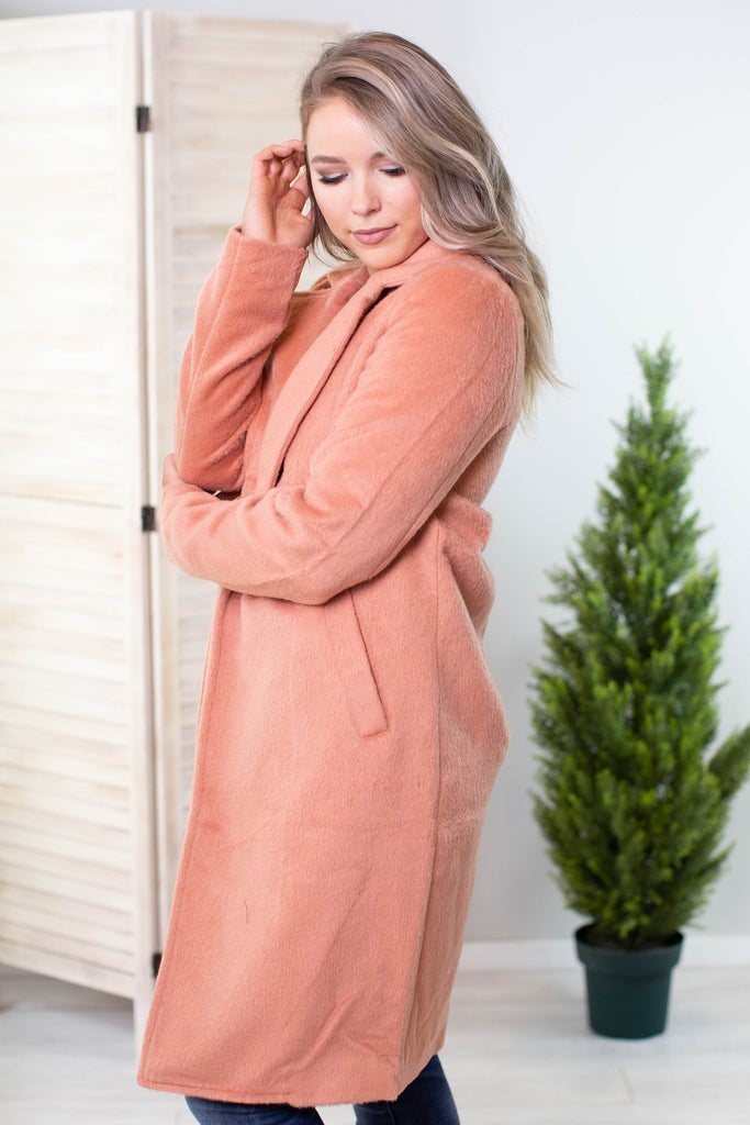 Holiday Magic Fleece Coat