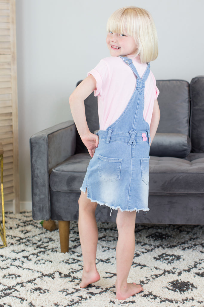 Kids- Sequin Star Overalls