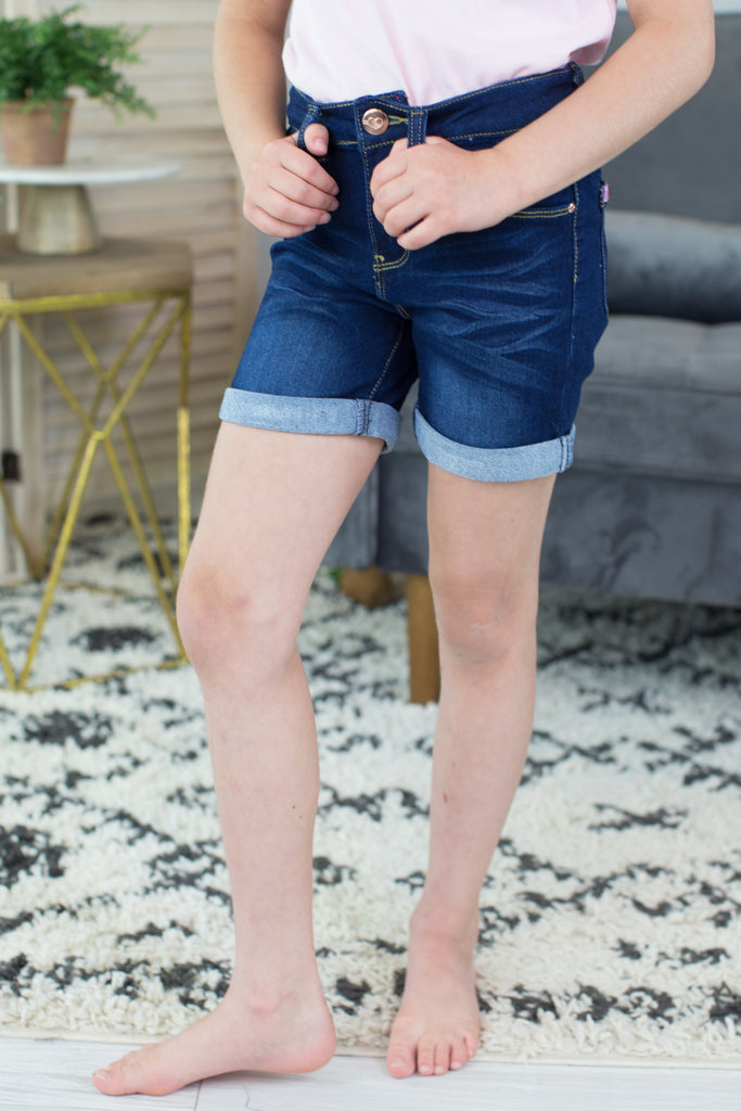 Kids- Girls Day Out Jean Shorts