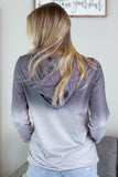 Ombre Hooded Sweatshirt