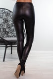 Sandra Dee Faux Leather Leggings