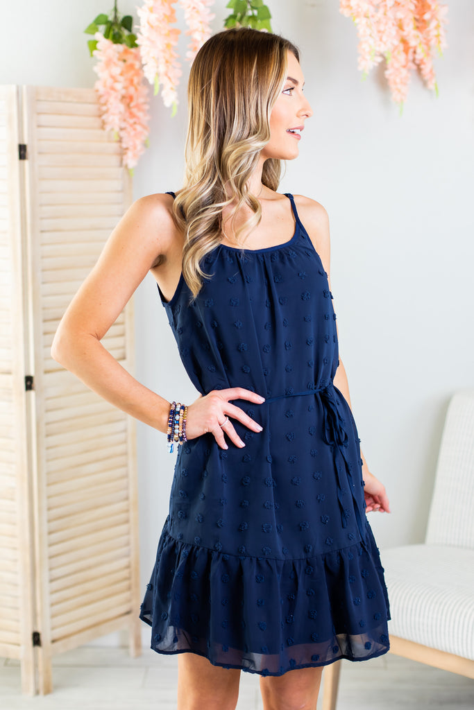 Dory Ruffle Hem Dress