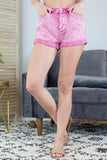 70's Show Pink Denim Shorts