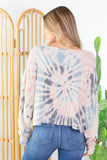 Tie Dye Cut Off Top