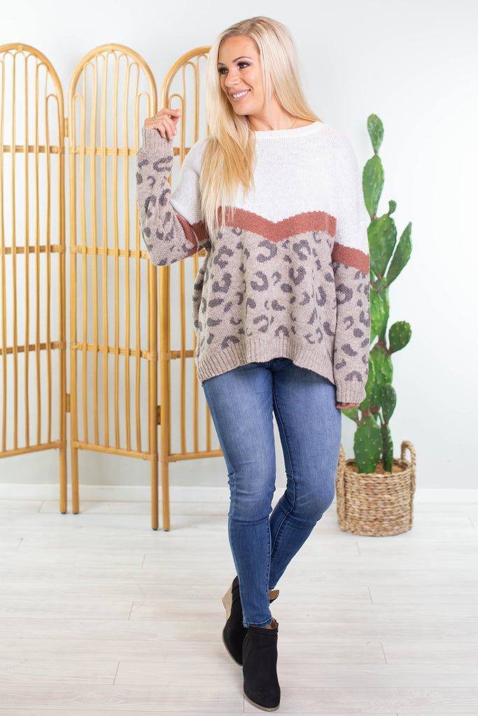 Into The Jungle Sweater - 2 Colors!