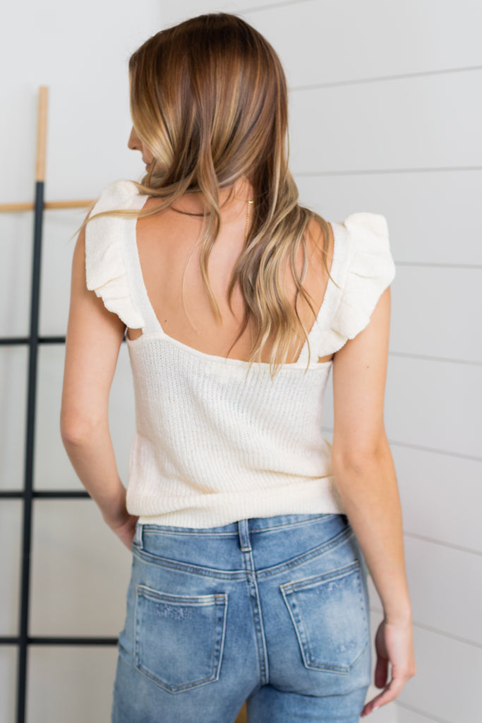 Benatar Cold Shoulder Top