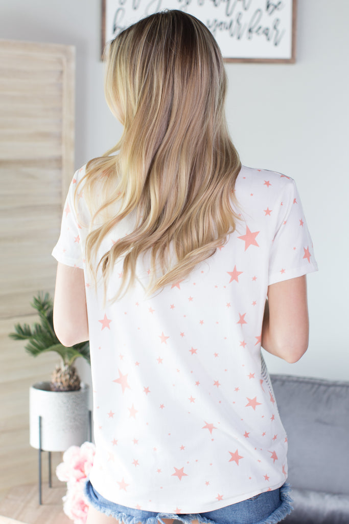 Stars And Stripes Pocket Top