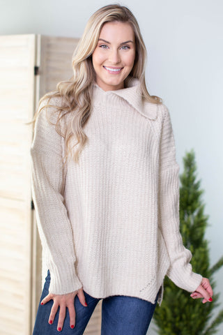 Sophie Cowl Neck Drawstring Top - 2 Colors
